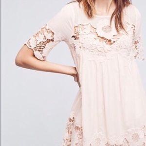 Anthropologie Dresses - Anthropologie Holding Horses Magnolia Lace Dress